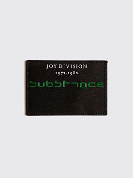 Raf Simons Cardholder Joy Division Black
