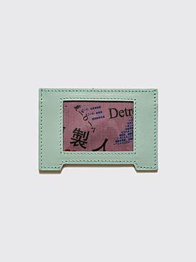 Raf Simons Cardholder Turquoise