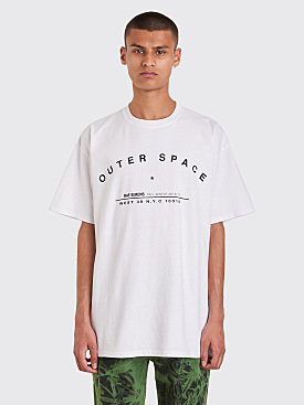 Raf Simons Regular Fit Tour T-Shirt White