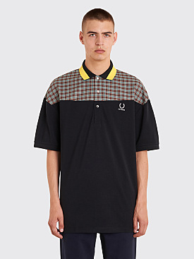 Raf Simons x Fred Perry Oversized Pique Shirt Black