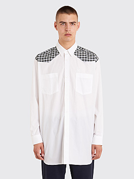Raf Simons x Fred Perry Yoke Panel Shirt White