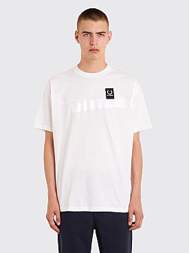 Raf Simons x Fred Perry Tape Detail T-Shirt White