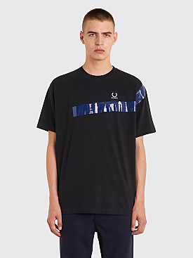 Raf Simons x Fred Perry Tape Detail T-Shirt Black