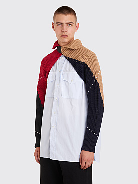 Raf Simons Knitted Sleeves Multi Color