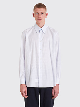 Raf Simons Shirt With Plastic Pocket Light Blue