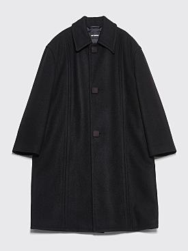 Raf Simons Classic Coat Black