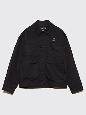 Raf Simons x Fred Perry Tape Detail Jacket Black