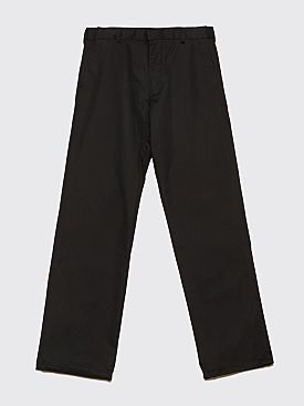 Raf Simons x Fred Perry Tape Detail Trousers Black