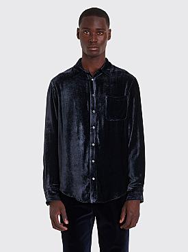Sies Marjan Sander Velvet Cord Shirt Graphite