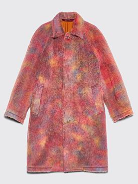Sies Marjan Blaine Alpaca Raglan Coat Rainbow