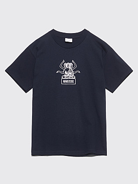 Sneeze Magazine Enlighten T-shirt Navy