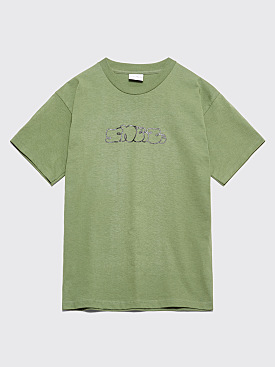 Sneeze Magazine Logo T-shirt Army Green