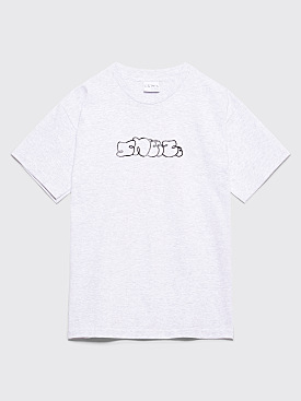 Sneeze Magazine Logo T-shirt Ash Grey