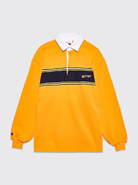 Better TM Stripe Logo Rugby Orange