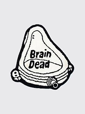 Brain Dead Urinal Rug White