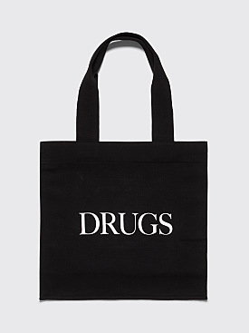 IDEA Drugs Tote Bag Black