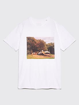 IDEA Alasdair McLellan Car Crash T-Shirt White