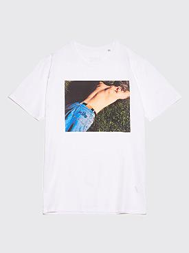 IDEA Alasdair McLellan Joe Bloggs T-Shirt White