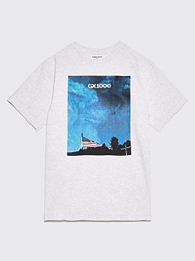 GX1000 Flag T-Shirt Ash Grey