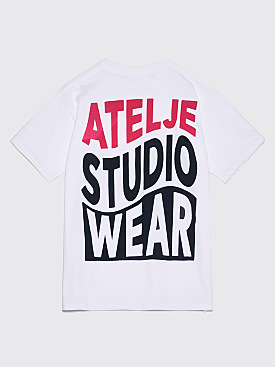 Atelje Wave T-shirt White