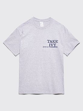 Fraser Croll Take Ivy T-shirt Grey