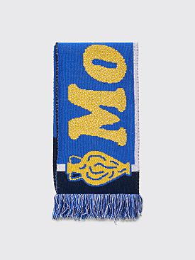 Public Possession Mondo Positivo Scarf Blue