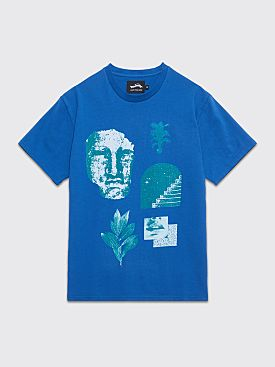 Safe Trip Welcome To Paradise T-shirt Blue