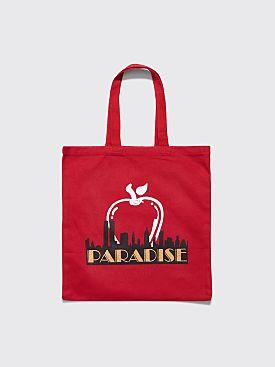 Paradis3 Big Apple Tote Bag Red