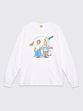 IGGY On The Block LS T-shirt White