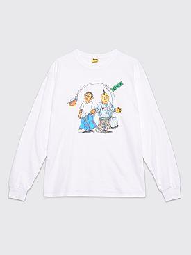 IGGY On The Block LS T-shirt White