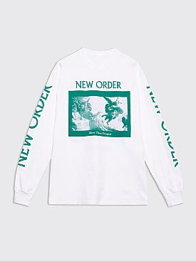 Fraser Croll New Order T-shirt White