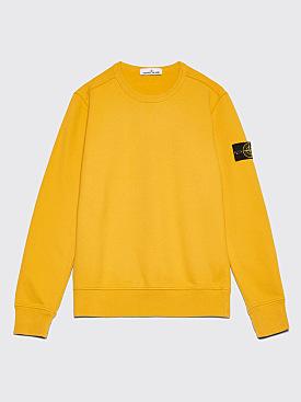 Stone Island GD Crew Neck Sweatshirt Mustard