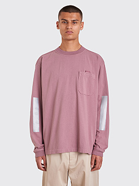 Stone Island Long Sleeve T-Shirt Rose Quartz