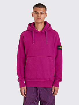 Stone Island GD Hooded Sweatshirt Magenta