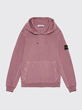 Stone Island GD Hooded Sweatshirt Rose Quartz