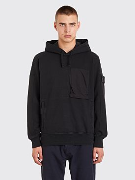 Stone Island Shadow Project Hooded Sweatshirt Black