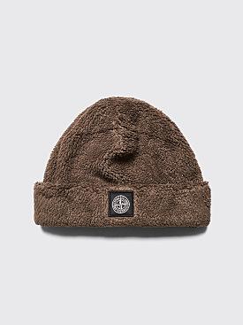 Stone Island Fleece Pile Hat Olive