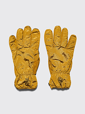 Stone Island Nylon Metal Gloves Mustard