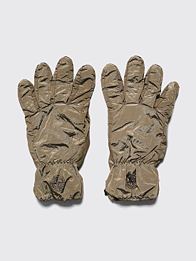 Stone Island Nylon Metal Gloves Olive