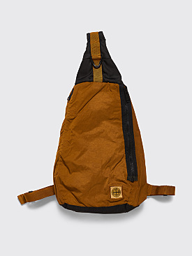 Stone Island GD Nylon One Shoulder Backpack Mustard