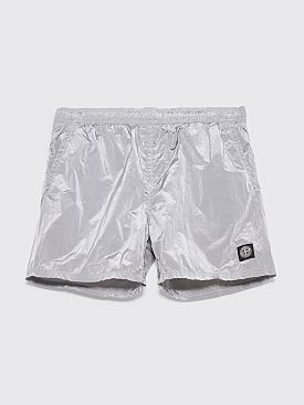 Stone Island Nylon Metal Swim Shorts Grey