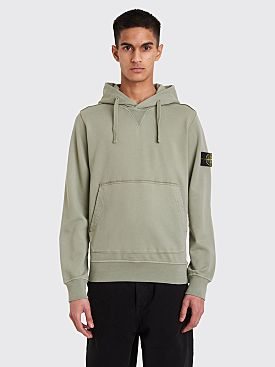 Stone Island Hooded Sweatshirt Sage Green