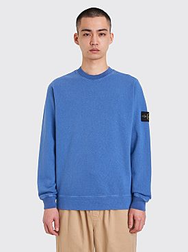 Stone Island GD Crew Neck Sweatshirt Pervinca Blue