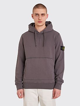 Stone Island Hooded Sweatshirt Grey