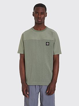 Stone Island Short Sleeve Sweatshirt Sage