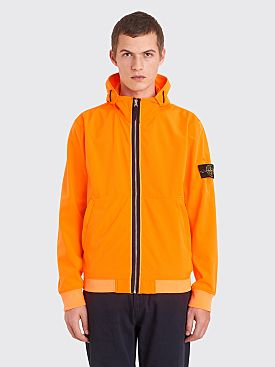 Stone Island Soft Shell Jacket Orange