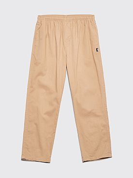 Stüssy OG Brushed Beach Pant Khaki