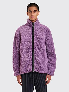 Stüssy Sherpa Mock Jacket Purple