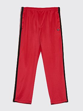 Stüssy Textured Rib Track Pant Red