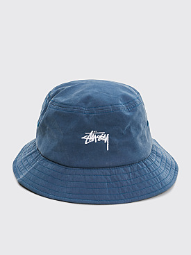 Stüssy Stock Bucket Hat Blue